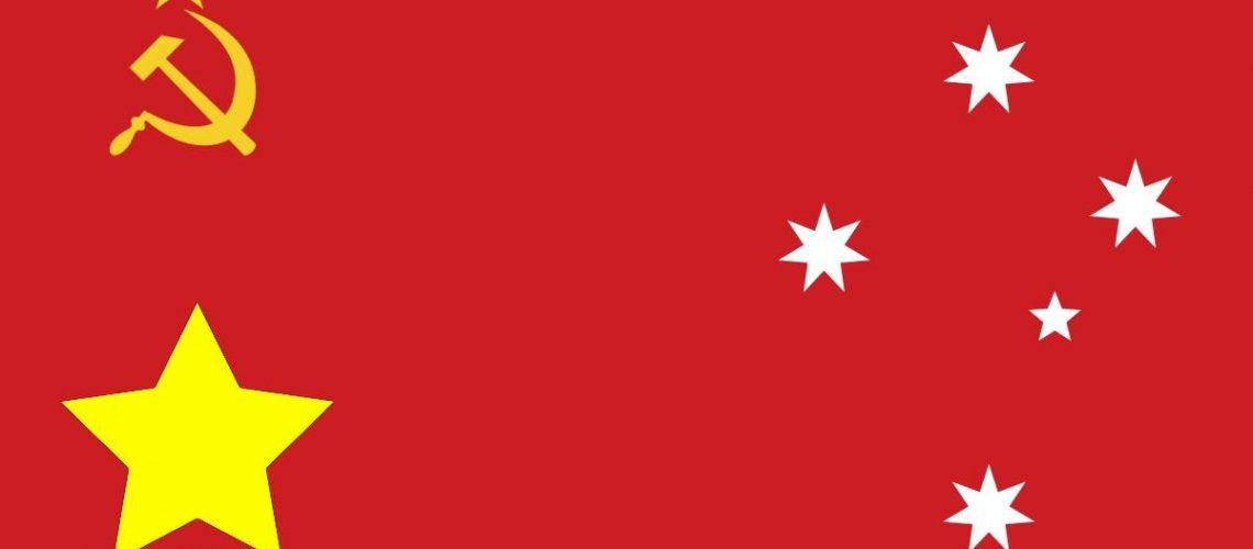 Australia communist flag