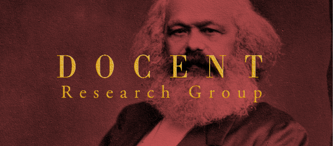 Docent Research Group Karl Marx 2.0